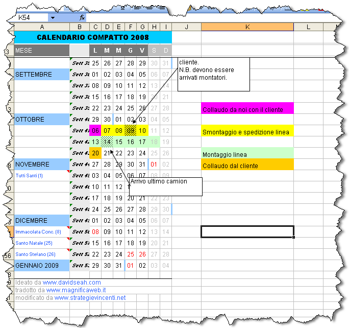 Inserire Calendario In Excel.Inserire Calendario In Cella Excel Calendario 2020